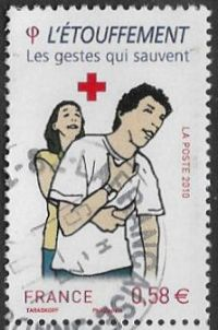 France 2010 Red Cross 58c type 4 good/fine used